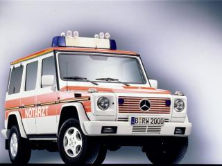 обои Mercedes-Benz G-klasse полицейский фото