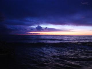 обои Грозовое небо над морем фото