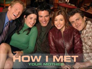 обои Как я встретил вашу маму,   вся компания фото