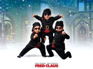 обои Fred Claus: черные санты фото