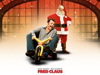 обои Fred Claus: парень на трехколеснике фото