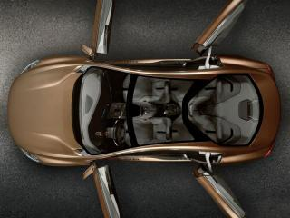 обои Volvo S60 вид сверху фото