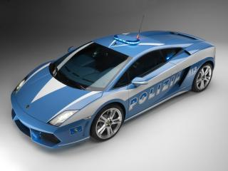 обои Lamborghini Gallardo Police фото