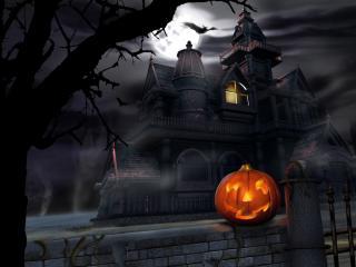 обои Дом потерянных душ Хэллоуин фото