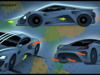 обои ZENVO ST5 CONCEPT аэродинамика фото