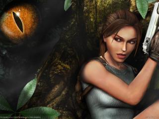 обои для рабочего стола: Lara croft tomb raider anniversary