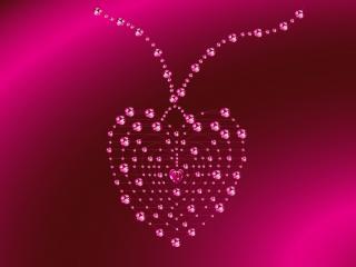 обои Сердце - украшение фото