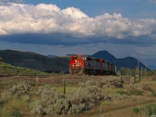 обои Маленький поезд фото