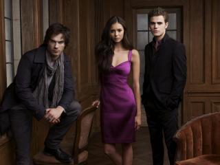 обои The Vampire Diaries. симпотичная девушка фото