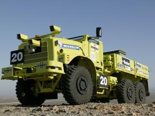 обои Oshkosh Yellow Truck фото