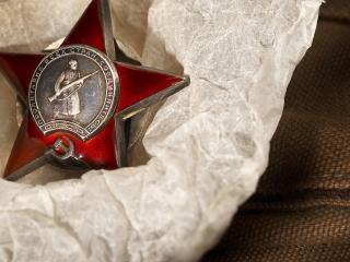 обои Орден красной звезды фото