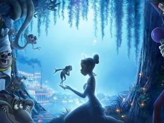обои Принцесса и лягушка фото