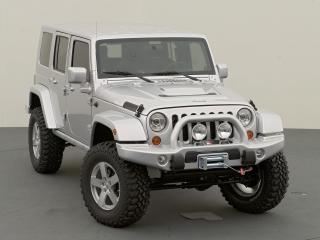 обои Jeep Wrangler Unlimited Rubicon Front Angle фото