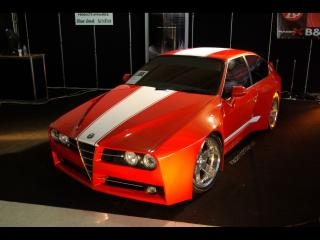 обои Racer X Design Alfa Romeo GTV Evoluzione Front Angle Top фото