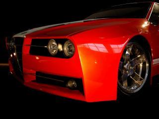 обои Racer X Design Alfa Romeo GTV Evoluzione Front Section 1 фото