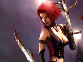 обои The game bloodrayne 2 фото