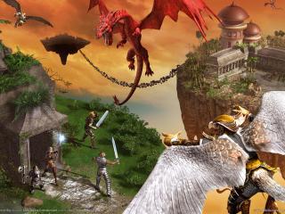обои Everquest 2 kingdom of sky фото