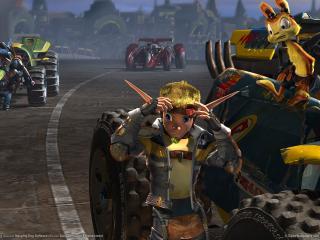 обои Jak x combat racing фото