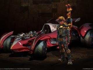 обои Jak x combat racing the game фото
