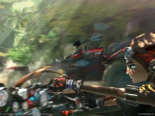 обои The game jak x combat racing фото