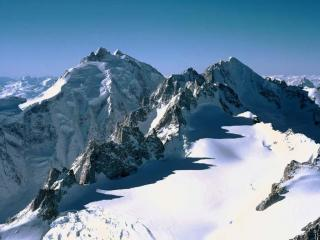 обои Заснеженные вершины фото