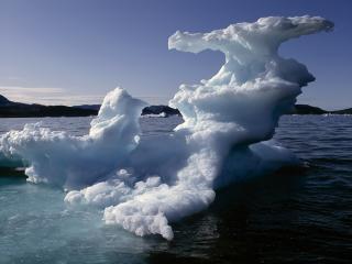 обои Фигура из айсберга фото