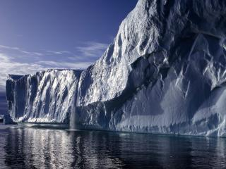 обои Лед и море фото