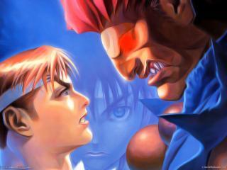 обои Street fighter series the game фото