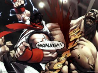 обои The game street fighter series фото