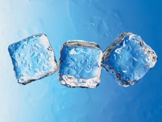 обои Три кубика льда фото