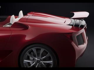 обои Lexus LF A Roadster Concept Roadster Top Cover фото