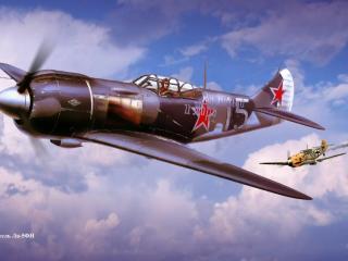 обои Воздушный бой фото