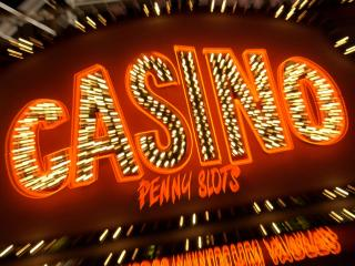 обои Надпись казино фото