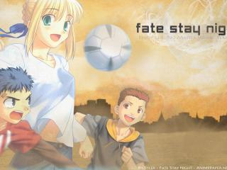 обои Fate st night фото