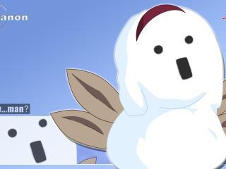 обои Снеговик из канона фото
