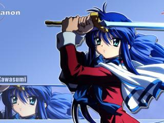 обои Каи с мечом фото
