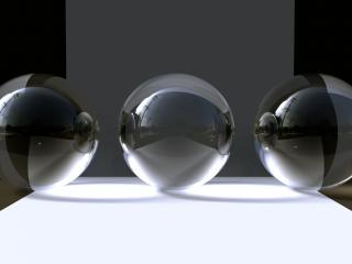 обои Три шара фото