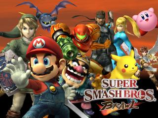 обои Brawl - Super Smash Bros фото