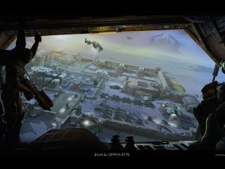 обои Halo Wars Basecamp фото
