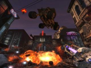 обои Unreal tournament exposion фото