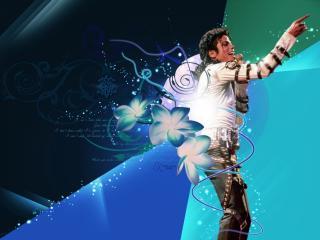 обои Michael Jackson Perform фото