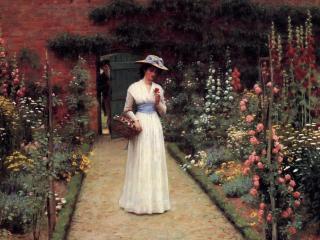 обои Edmund Blair Leighton (1853-1922) - английский художник фото