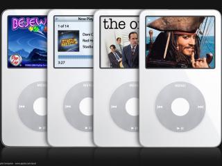 обои для рабочего стола: iPod white
