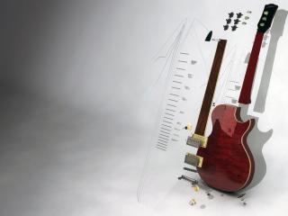 обои 3D-graphics Musical instrument фото