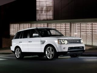 обои Range Rover Sport White фото