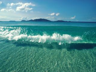 обои Кристальные воды океана фото