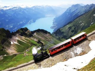 обои Switzerland  train фото