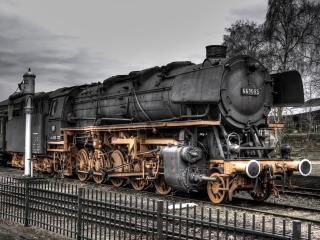 обои Старинный поезд фото