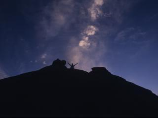 обои Свобода на вершине горы фото