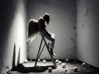 обои Fallen angel фото